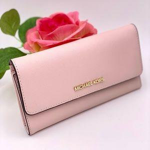 ❤️Michael Kors Trifold Wallet pink